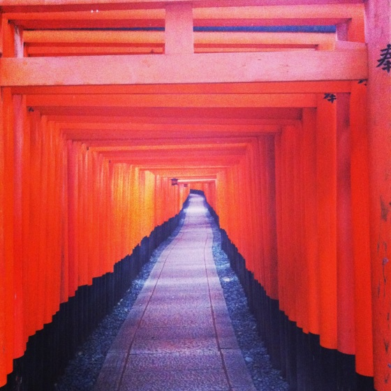 Fushimi Inari, few of the 8000 gates